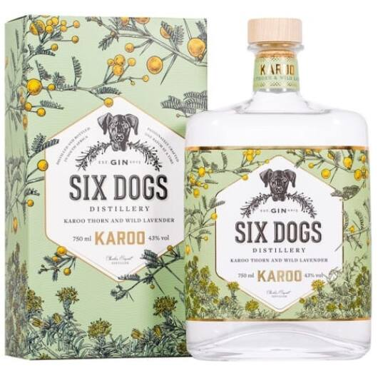 Six Dogs Karoo Gin 0,7l 43%