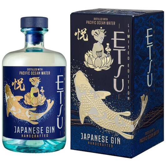 Etsu Pacific Ocean Water gin 0,7L 45% pdd.