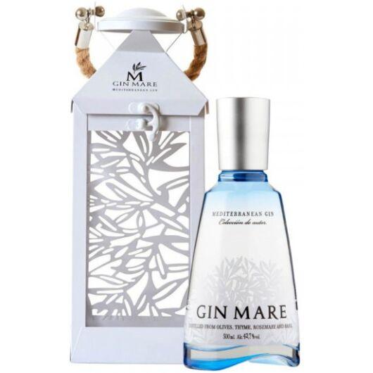 Gin Mare Mediterranean Gin 0,7L 42,7% fém lámpásban