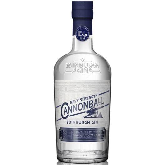 Edinburgh Cannonball Navy Strength gin 0,7L 57,2%