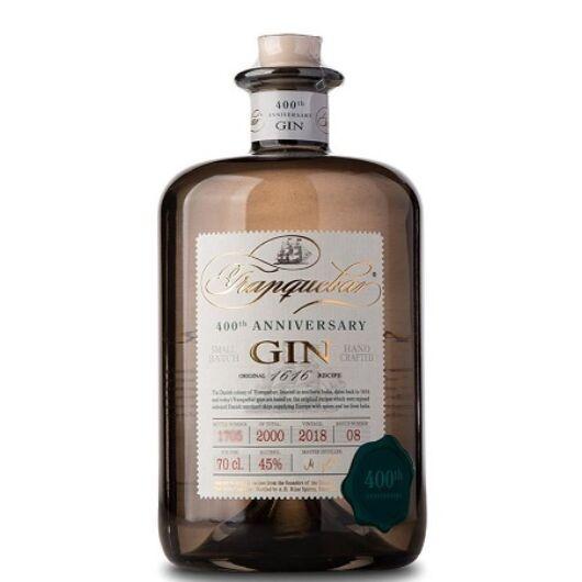 Tranquebar 400th Anniversary Gin 45% 0,7