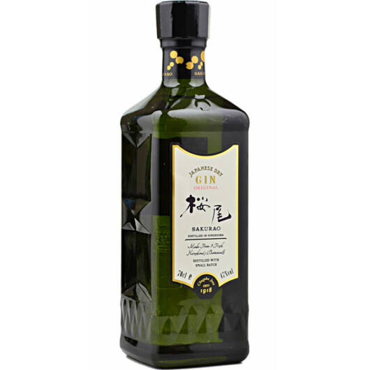 Sakurao Japanese Dry Gin Original 47% 0,7