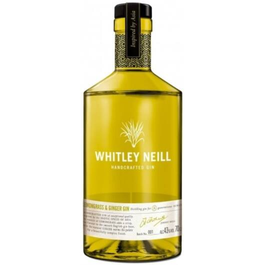 Whitley Neill Lemongrass Ginger Gin 0,7 43%