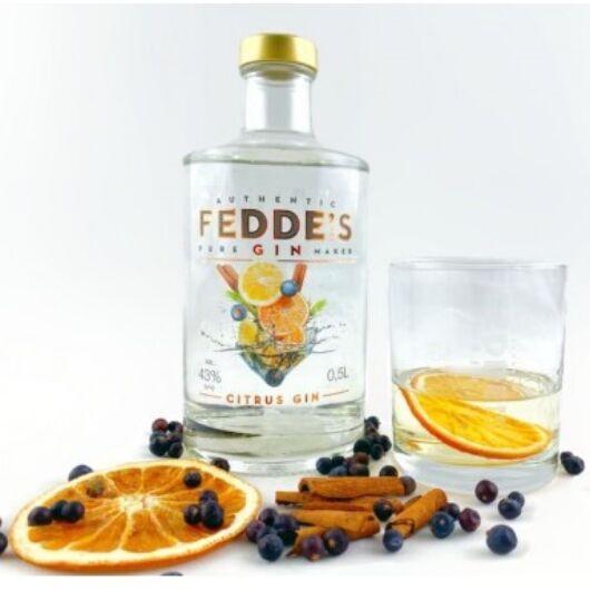 Fedde's Citrusos Magyar gin 0,5 43%