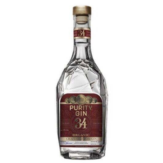 Purity Gin 34 Old Tom Organic 43% (piros) 0,7