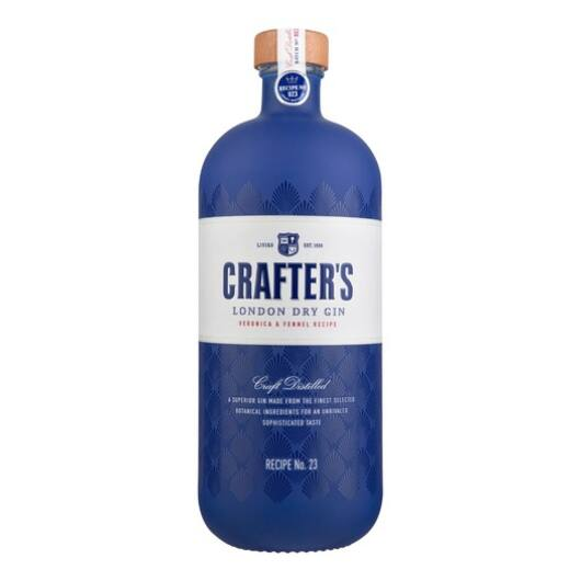 Crafter's London Dry gin 0,7L 43%