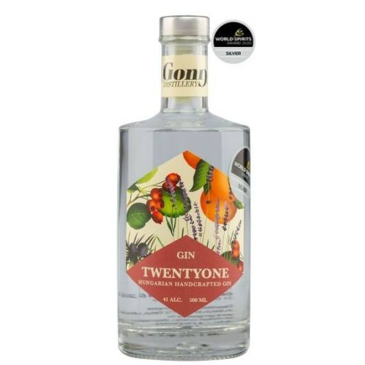 GONG 21 Dry Gin - 41% 500 ml