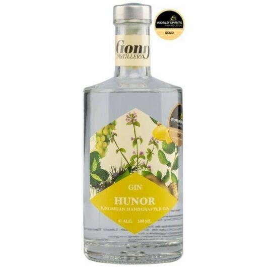 GONG Hunor Dry Gin - 41% 500 ml