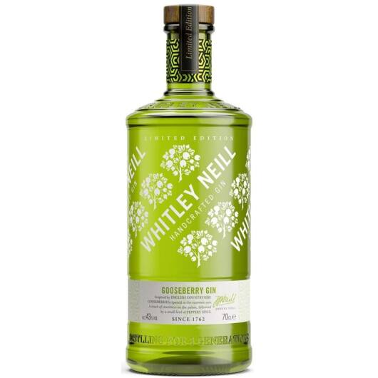 Whitley Neill Gooseberry (Egres) Gin - 0,7L (43%)