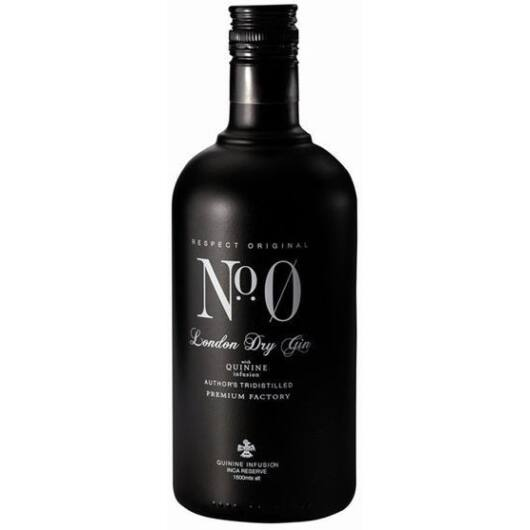 Nº Zero London Dry Gin - 0,7L (40,8%)