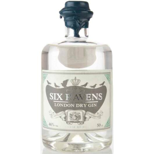 Six Ravens London Dry Gin - 0,5L (46%)