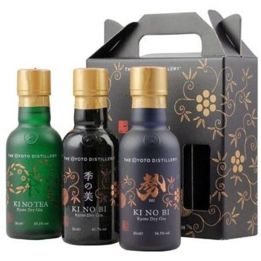 KiNoBi Kyoto Gin Pack - 3x0,2L (48,43%)