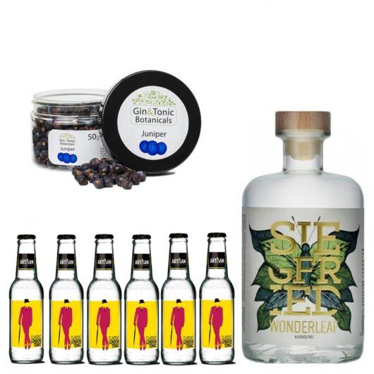 Wonderlaef Alkoholmentes Gin Tonik Csomag ajándék borókabogyóval