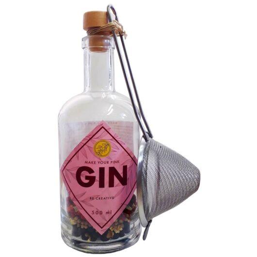 Make Your Gin Be Creative - Pink Gin