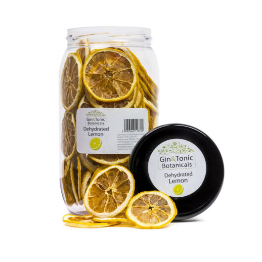 Gin Tonik fűszer nagy Gasztró tégelyben Szárított citrom karikák 105 gr