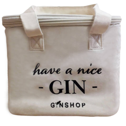 Feliratos Gin Tonic Vászon Hűtőtáska Have a Nice
