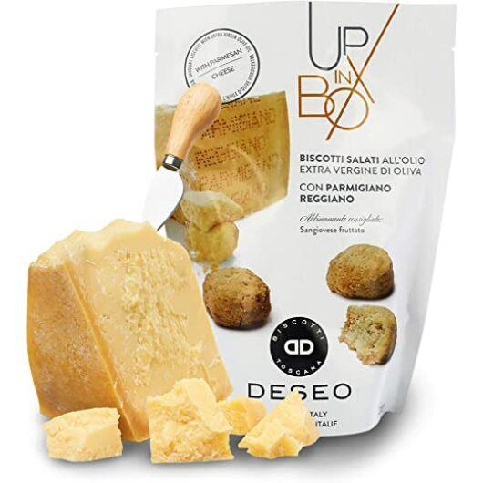 Deseo Up in Box Parmigiano Reggiano Sajtos Keksz 80g