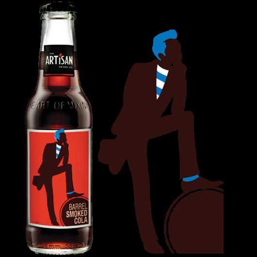 Artisan Smoked Barrel Cola 200ml