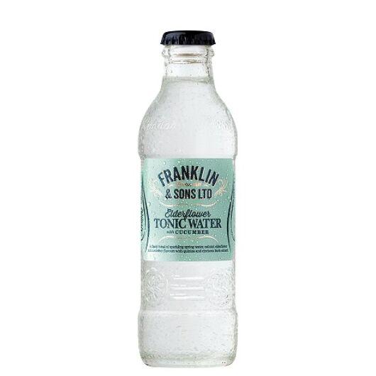Franklin and Sons bodzás uborkás tonic 200 ml