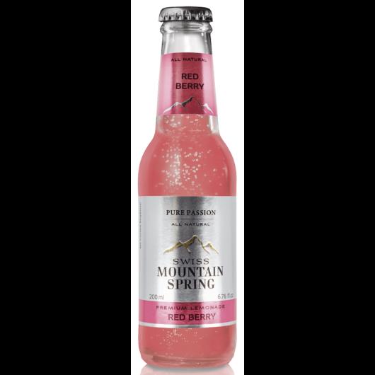 Swiss Mountain Spring Tonik - Red Berry Lemonade - 0,2L