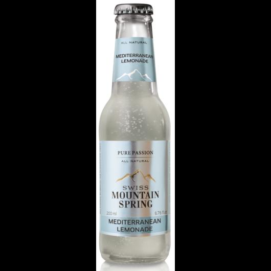 Swiss Mountain Spring Tonik - Mediterranean Lemonade - 0,2L