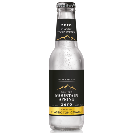 Swiss Mountain Spring Tonik - ZERO Tonic Water - 0,2L