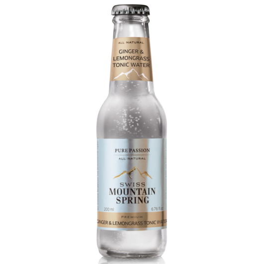 Swiss Mountain Spring Tonik - Ginger/Lemongrass Tonic Water - 0,2L