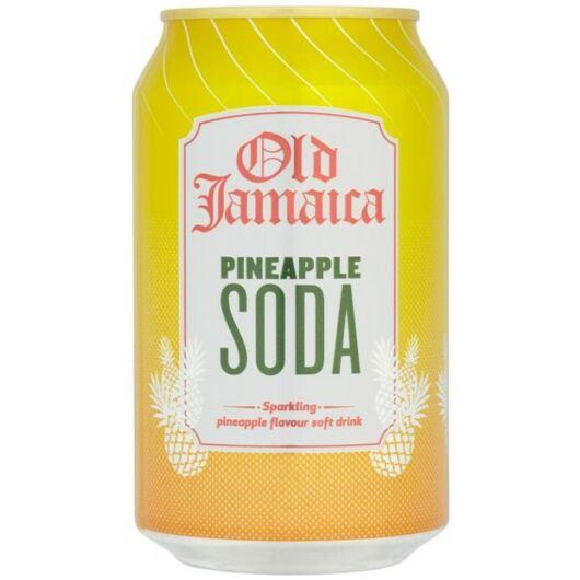 Old Jamaica Ananász ízű üdítő 330ml