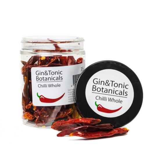 Gin Tonik fűszer közepes tégelyben Szárított Egész Chili 35 gr